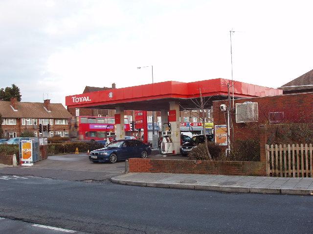 Petrol filling station, Kenton Road