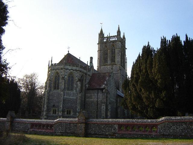 St John the Evangelist, Northington