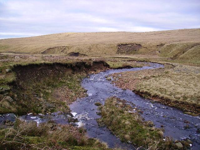 Bushy Clough meets  River Roeburn