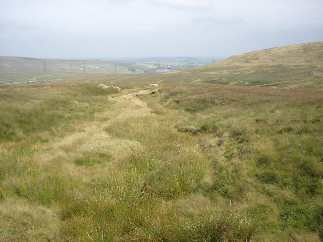 Supposed Roman Road over Blackstone Edge
