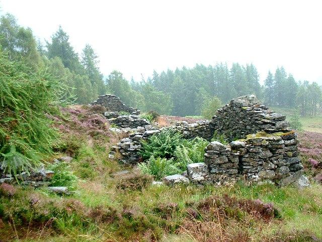 Corhulichan - an abandoned farmstead