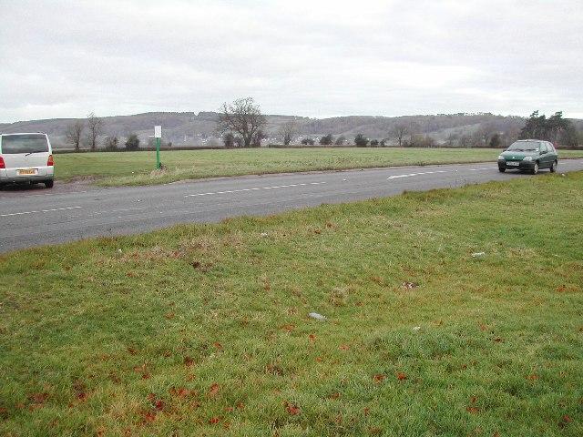 Common land off the A38 at Havyatt Green