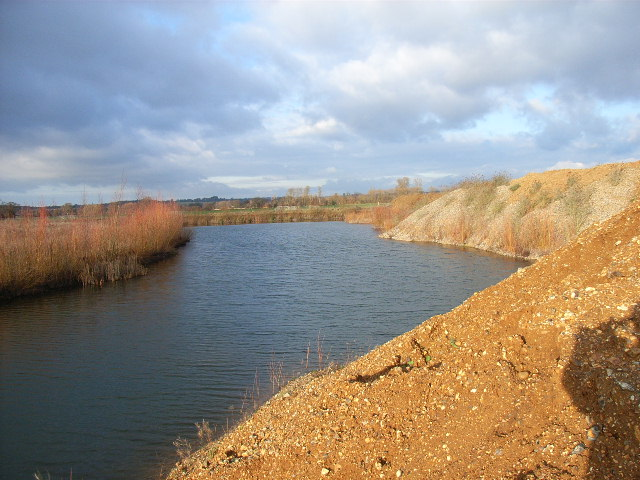 Gravel pit, north of Maidenhead
