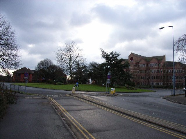 Roundabout on the A4, Maidenhead