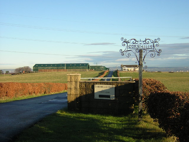 Cornhills Farm, Near Hamilton