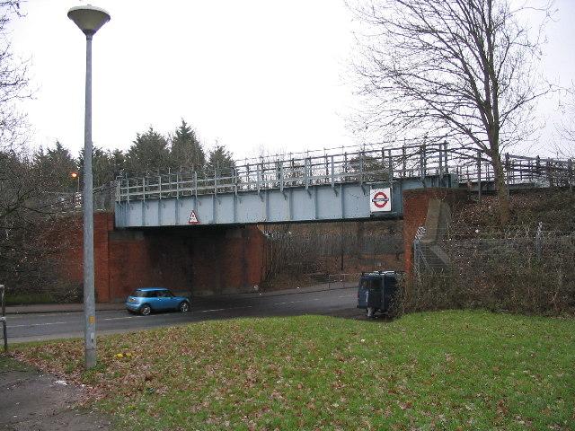 Railway bridge near Debden station