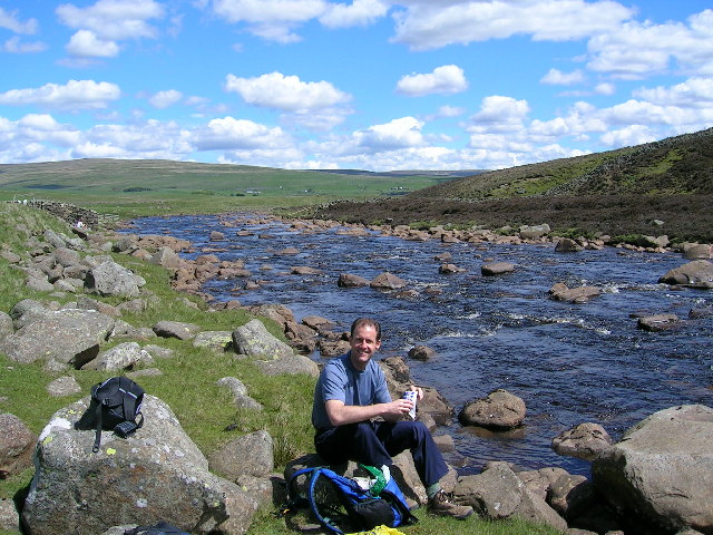 Upstream from Widdybank Farm
