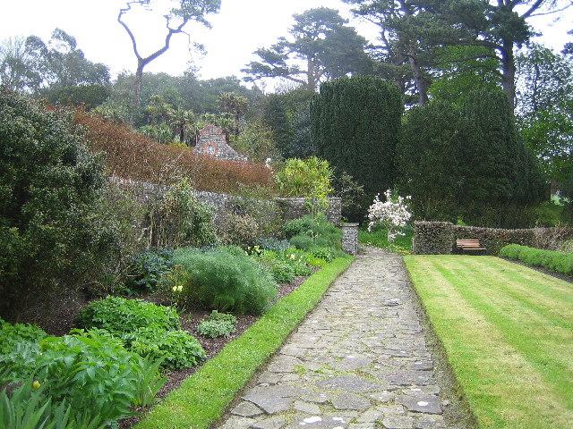 Tapley Hall gardens