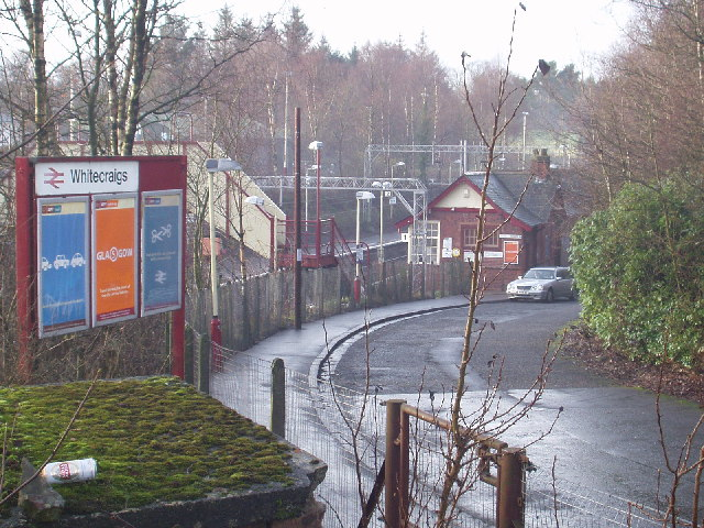 Whitecraigs Station