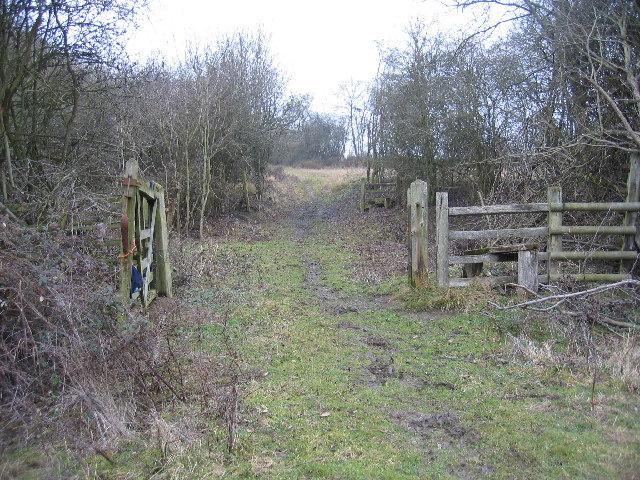 Bridleway crossing