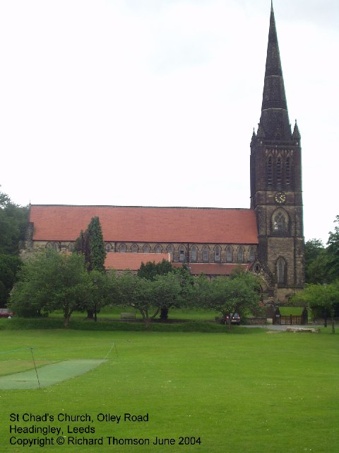 St Chad's Church, Otley Road, Headingley, Leeds