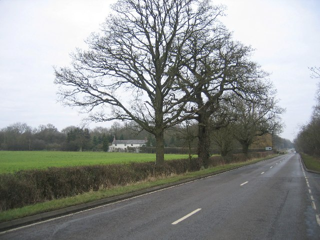 Fosse Way and Fosse Cottages
