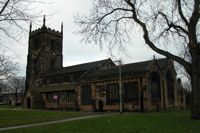 All Saints church, Normanton.