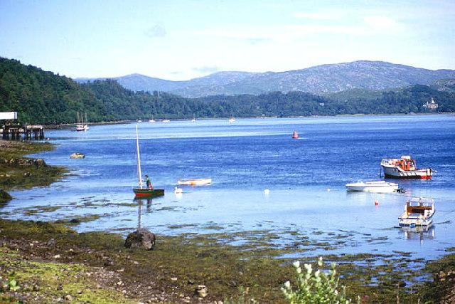 Loch Aline looking north east