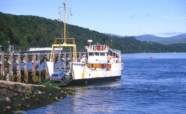 Lochaline ferry ramp