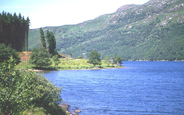 Loch Arienas; road to Rahoy