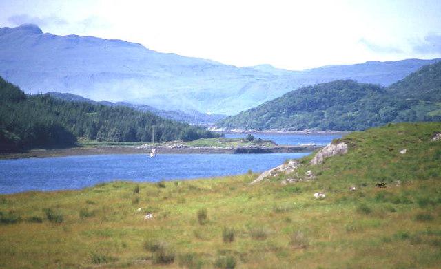 Loch Teacuis narrows
