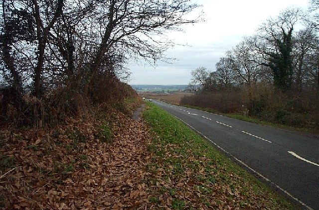 A60 south of Cuckney