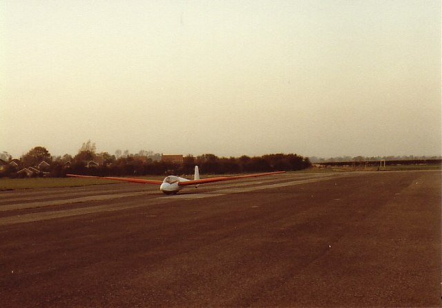 North End of Runway, Rufforth Airfield