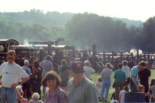 Steam Engines at Harewood House