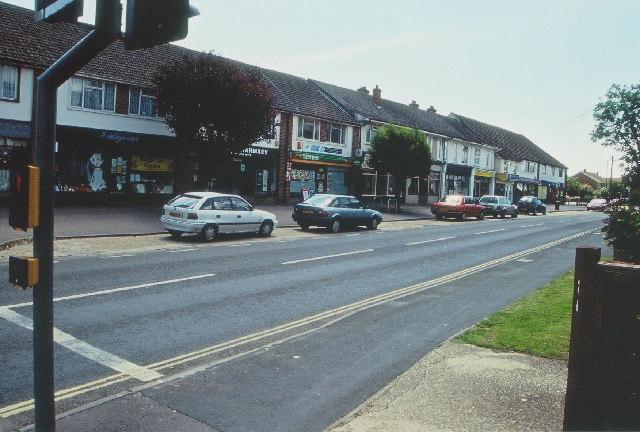 Parade of shops, Ashley
