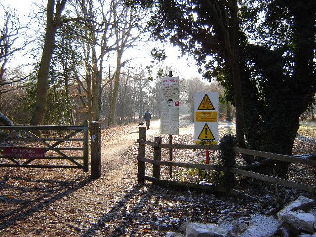 Military land near Elstead