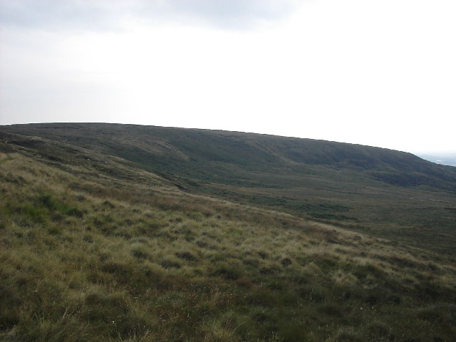 Hill to west of Sun End