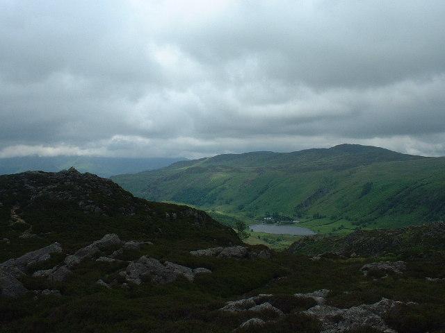 Summit ridge Great Crag