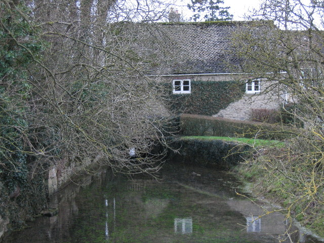 River Thames at Kemble Mill Somerford Keynes