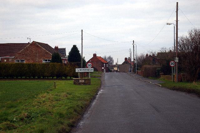 Approaching Winteringham