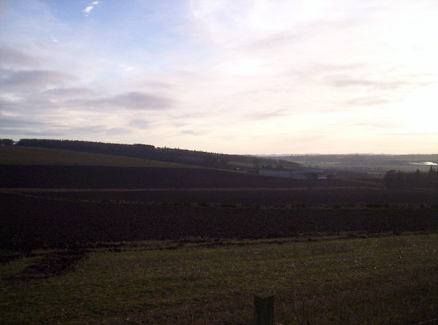 Fields and Grangehall Farm