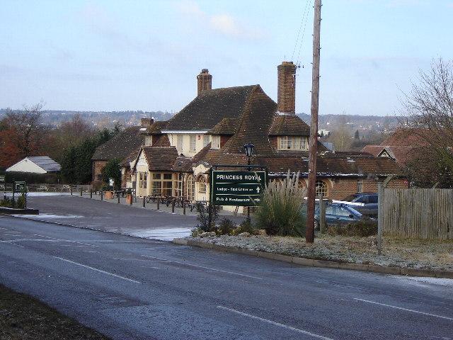 Princess Royal Pub near Runfold