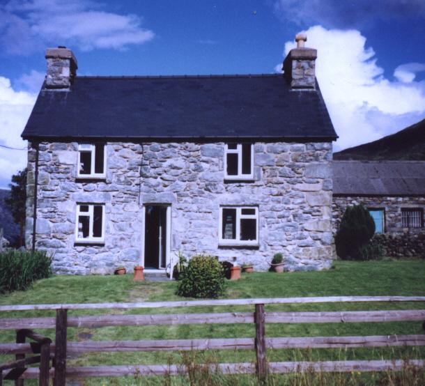 Cil-cychwyn Farmhouse near Harlech