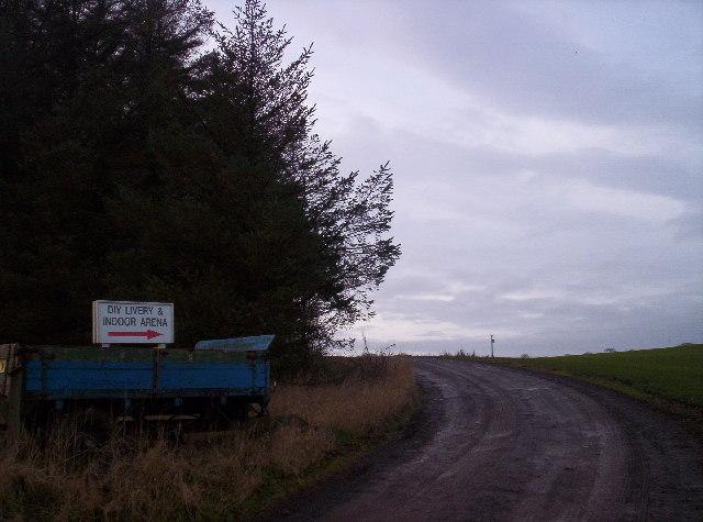 Track to Commieston
