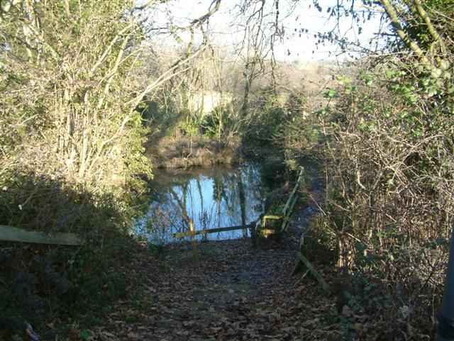Footpath over the River Kennet