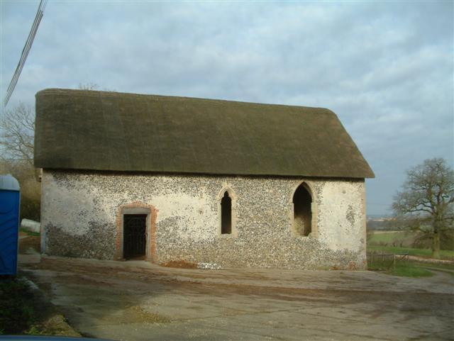 St. Martin's Chapel, Chisbury Manor Farm