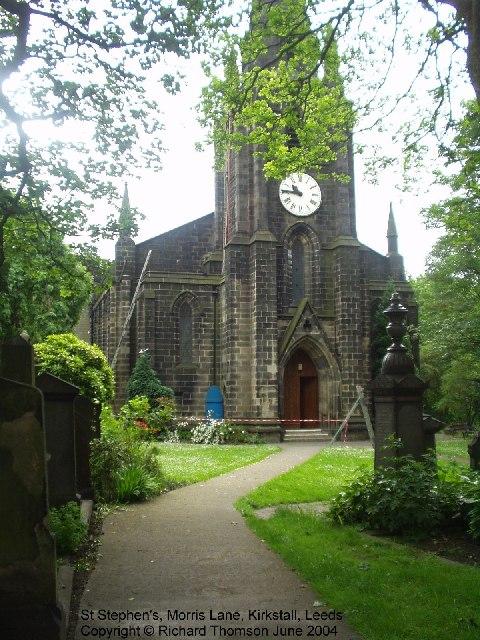 St Stephen's, Morris Lane, Kirkstall, Leeds
