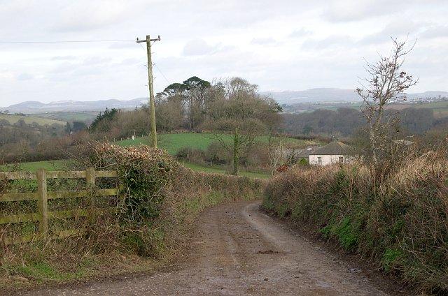 Landscape near Menadews Farm