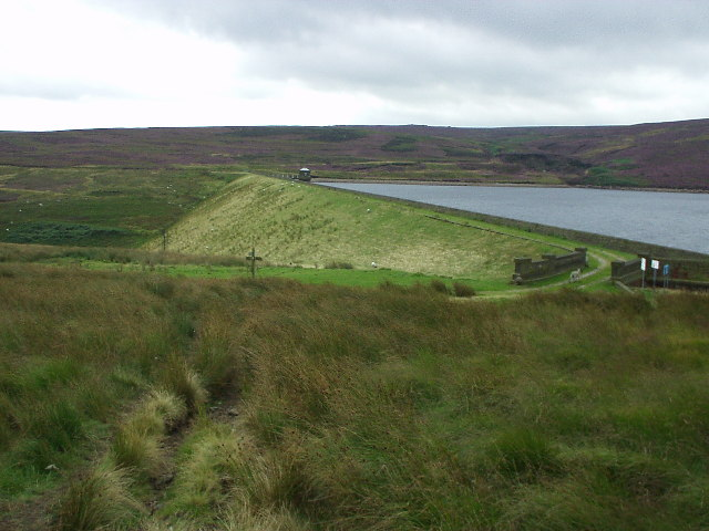 Gorple Upper Reservoir dam