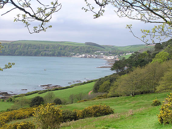 Kingsand and Cawsand from Mt. Edgecombe walk