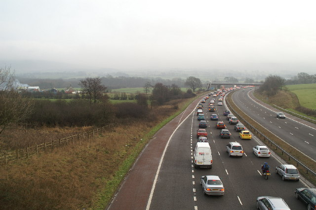 New Year Bank Holiday, South on the M6