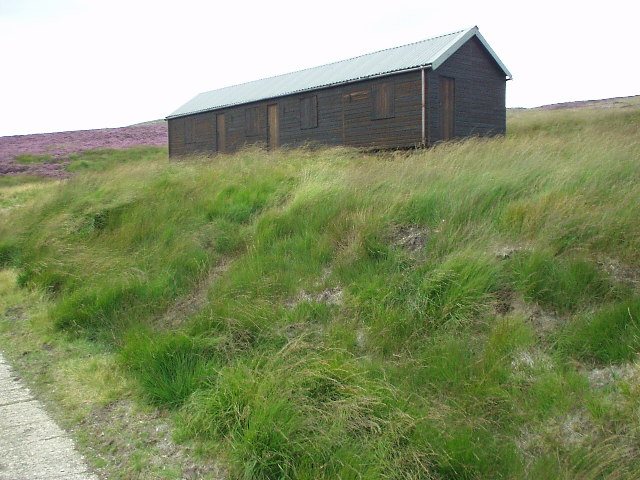Shooting hut above Clegg Foot, Black Moor