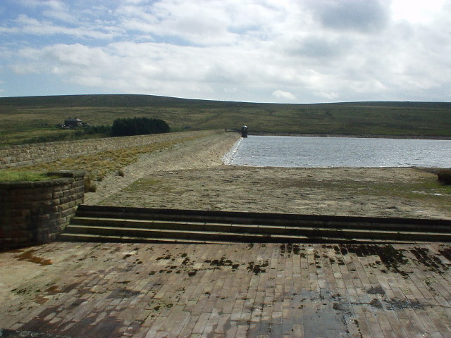 Gorple Lower Reservoir dam
