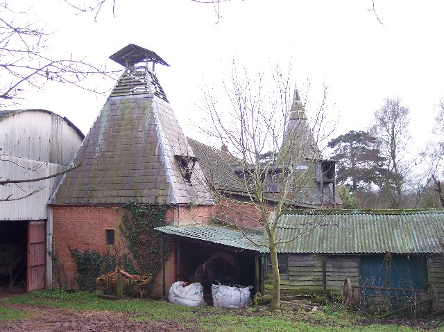 Two Styles of Oast Houses, Freetown