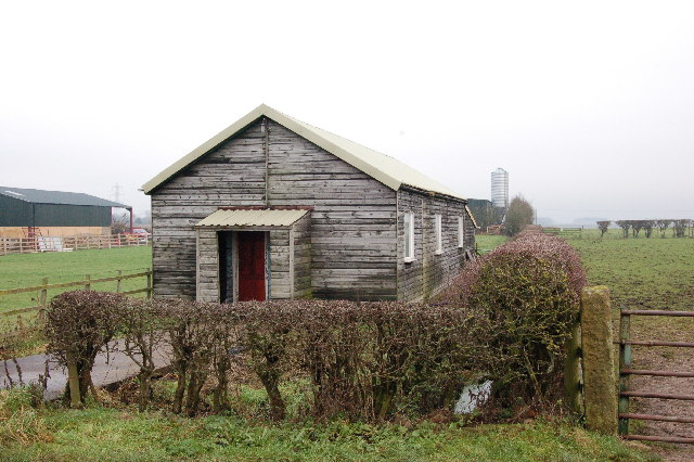 Old Out Rawcliffe Village Hall at Moss Edge.