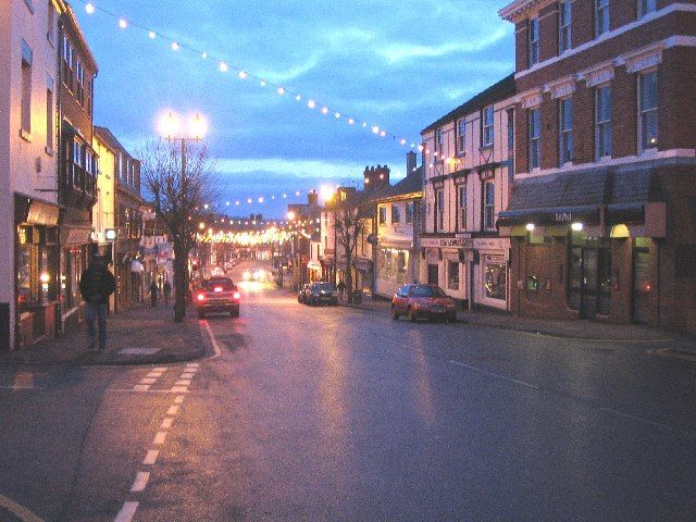 Christmas Lights at Mold