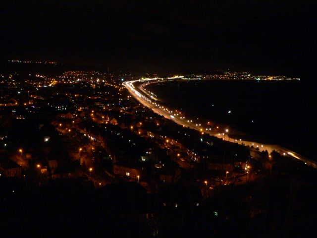 Colwyn Bay at Night