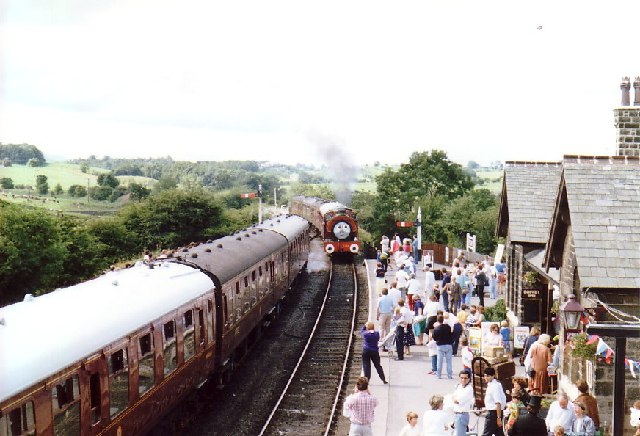 Embsay Station, North Yorkshire
