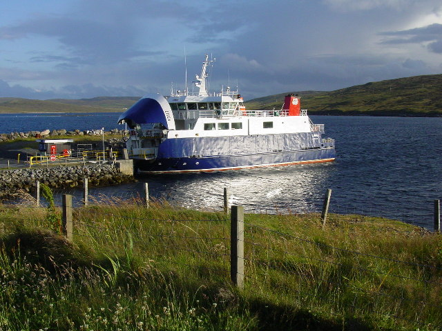 Whalsay Ferry at Laxo Ferry Terminal