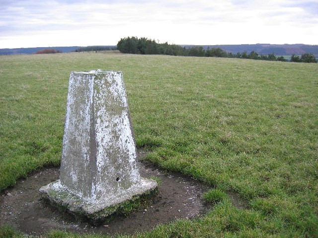 Langdale Rigg End - Trig Stone